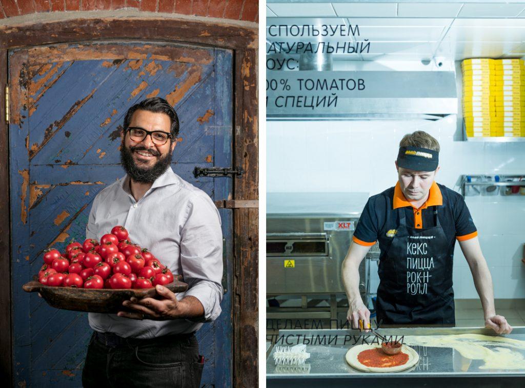 Бизнес-портрет для ресторанов и кафе