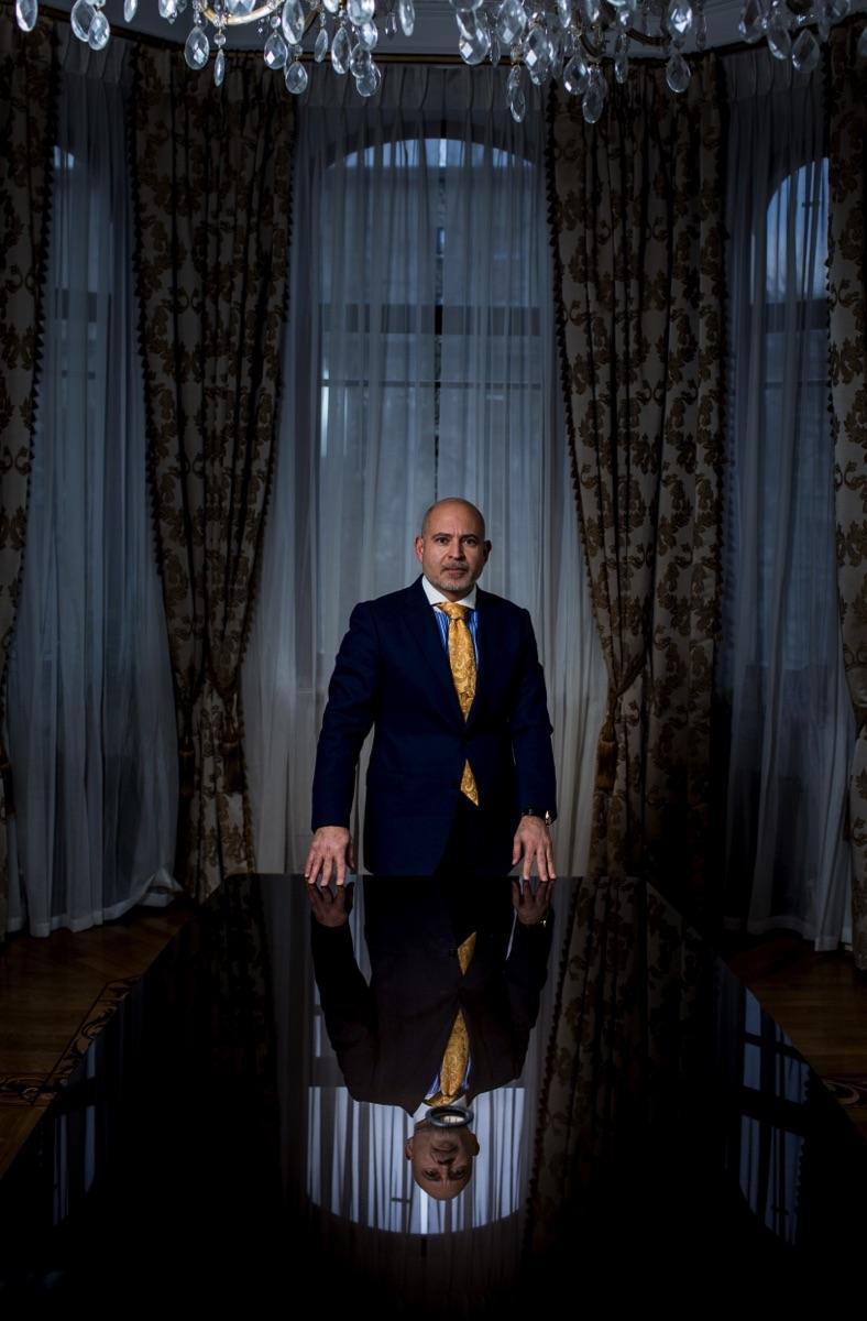 Дмитрий Хенкин, Consulco Limited. Фотограф Арсений Несходимов