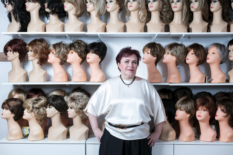 Алла Гордиенко, владелица магазина париков. Фотограф Арсений Несходимов