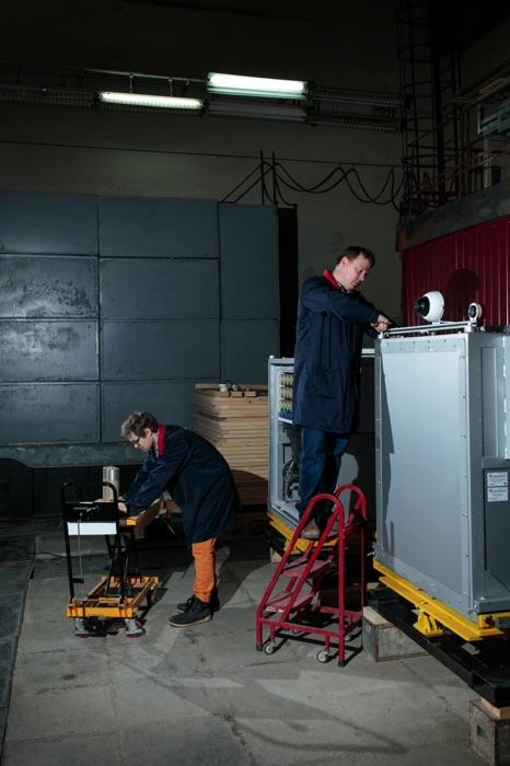 Компания Двин, Лаборатория разработка детекторов взрывчкатки. Фотограф Арсений Несходимов