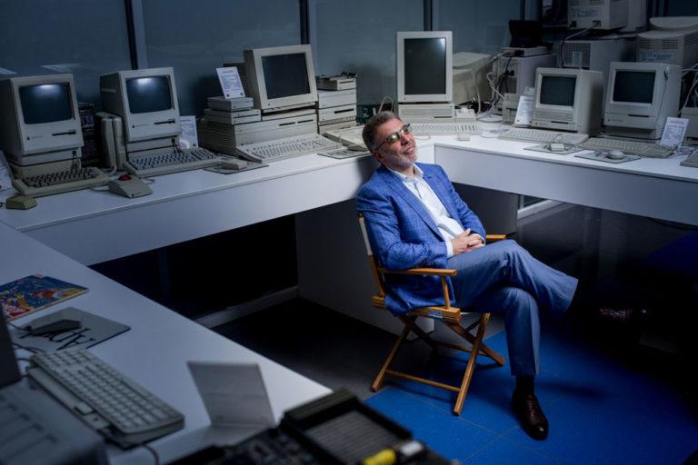 Сергей Мацоцкий, IBS. Съемка в офисе компании. Фотограф Арсений Несходимов