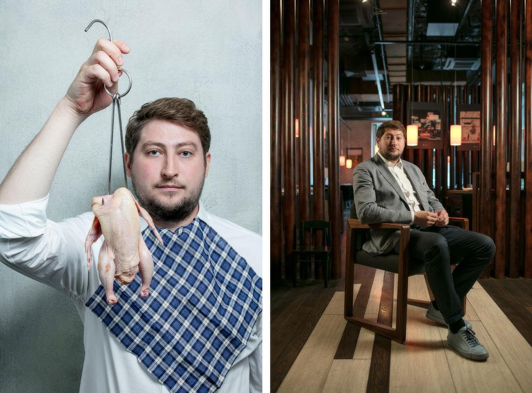 Дмитрий Зотов, бренд-шеф, ресторатор. Фотограф Арсений Несходимов